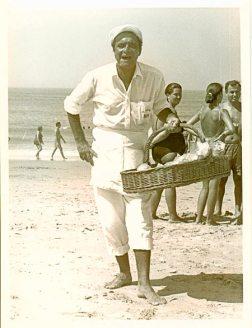 El Papi en la playa de El Puerto